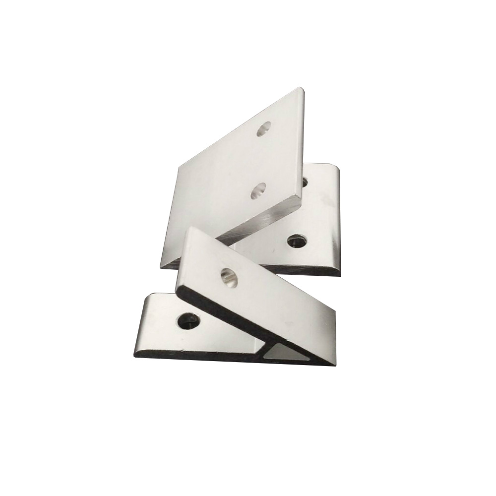 1pcs 45 Degree Corner Angle Bracket Connection Joint For 2020/3030/4040/4545/6060/8080/9090 Series Aluminum Profile