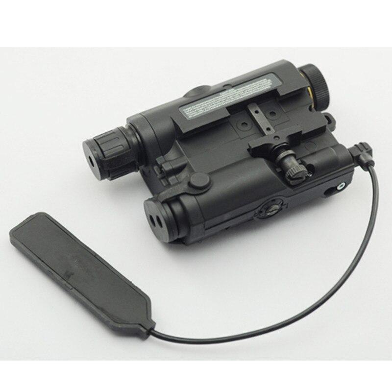 AN/PEQ-15 point rouge Laser blanc lampe de poche LED 270 Lumens pour Standard 20mm rail Vision nocturne chasse fusil étui de batterie élément - 5