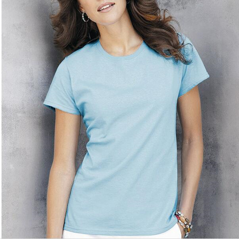 High quality cotton t shirt 2017 new summer women casual for Womens white shirts high quality