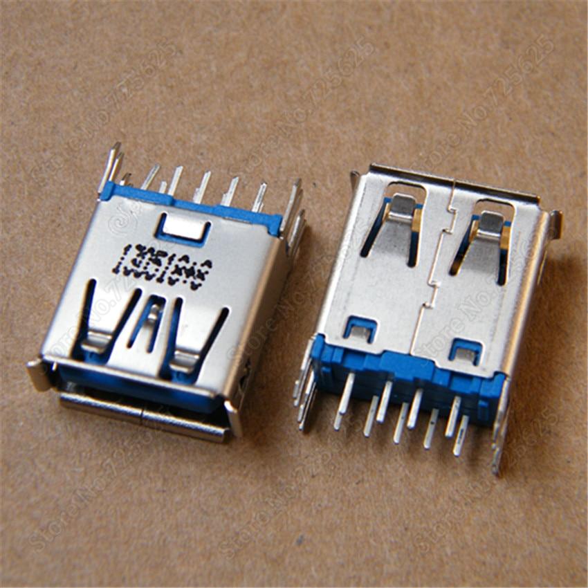 3.0 USB Jack female Port 180 degree DIP Vertical USB Connector usb 3.0 Socket