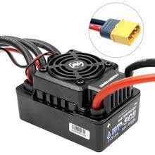 Hobbywing EZRUN WP SC8 120A กันน้ำตัวควบคุมความเร็ว Brushless ESC สำหรับ RC รถสั้นรถบรรทุก XT60/T CONNECTOR