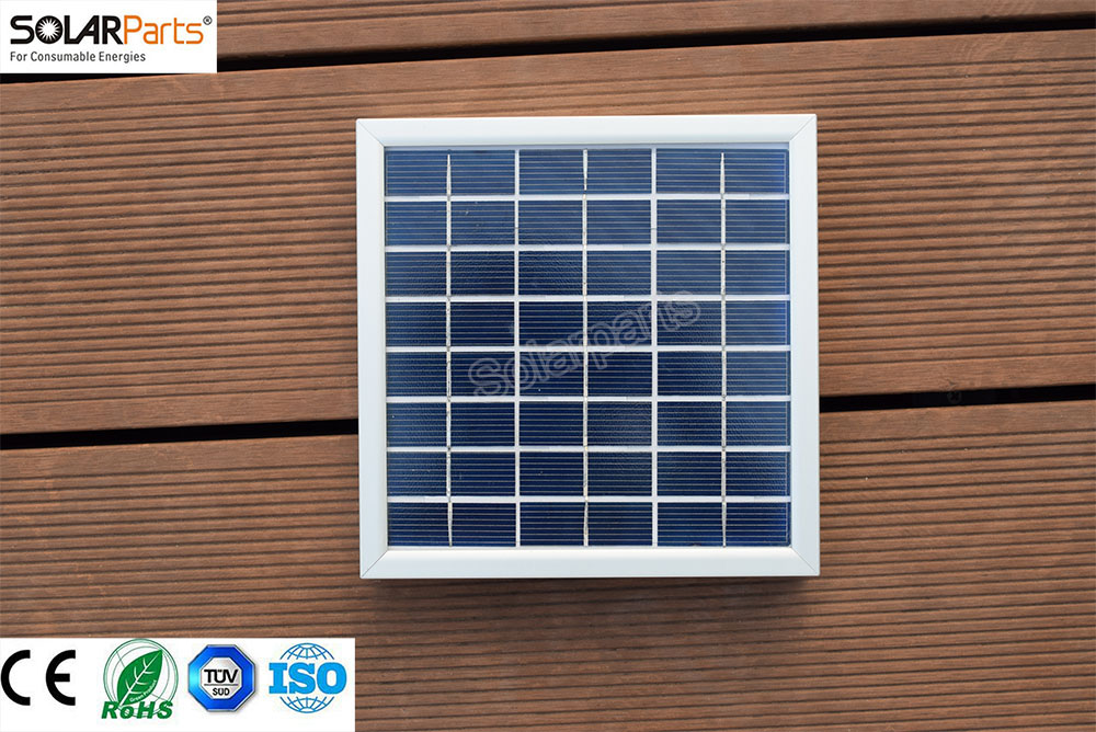 Factory price Retail solar panel 1x4W Polycrystalline solar module mono solar cell for 5V boat yacht RV/Marine /Boat use outdoor
