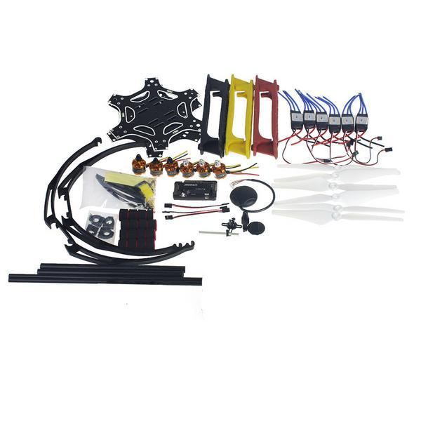 RC Drone MultiCopter Aircraft Kit F550 Hexa-Rotor Air Frame GPS APM2.8 Flight Control No Battery No TX/RX F05114-AX f550 hexa rotor air frame flamewheel kit rtf assembled with landing gear no tx