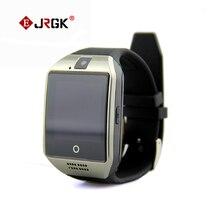 Q18บลูทูธsmart watch 450 mah 1.3mpกล้องsmart watchโทรศัพท์สนับสนุนซิม/tfการ์ดแฮนด์ฟรีโทรสำหรับios a ndroid pk gv18