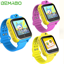 Lemado Smart watch Kids Wristwatch Q730 3G GPRS GPS Locator Tracker Smartwatch Baby Watch With Camera For IOS Android Phone