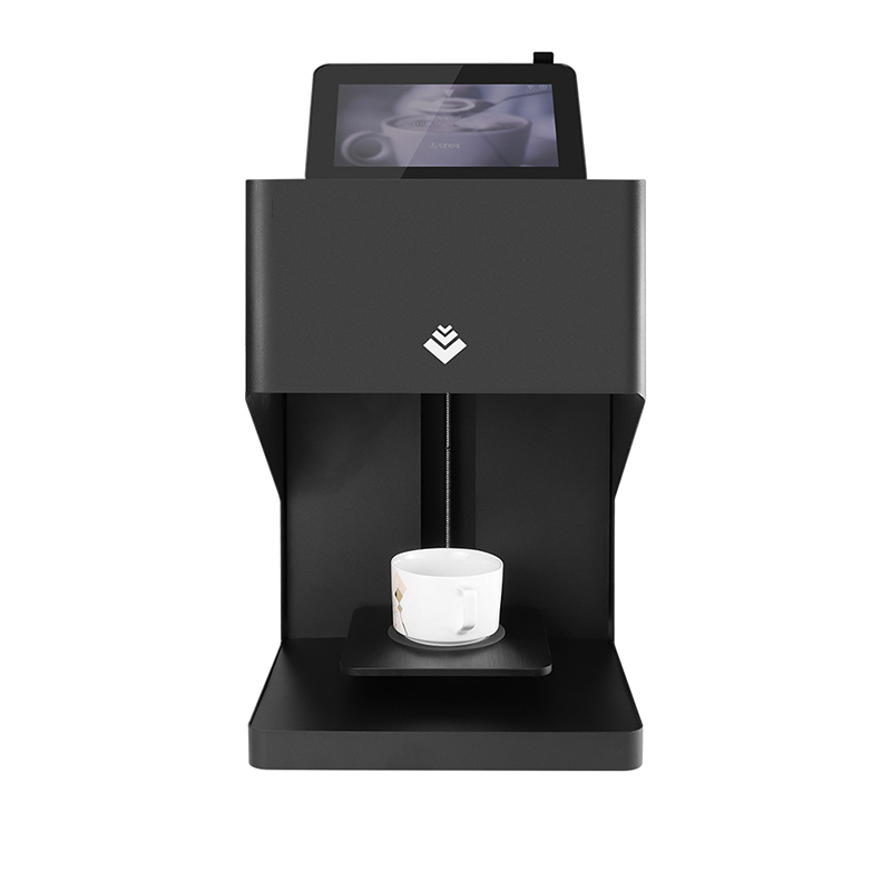 Free Shipping New Design Automatic Wifi Selfie Coffee Printer Machine With Edible Ink And Operation Display