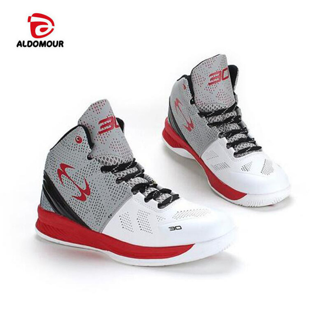 1e9a3c0f56c0 ALDOMOUR Lifestyle basketball shoes for lovers newest 2018 basketball  sneakers men women boots lace up basket homme four season