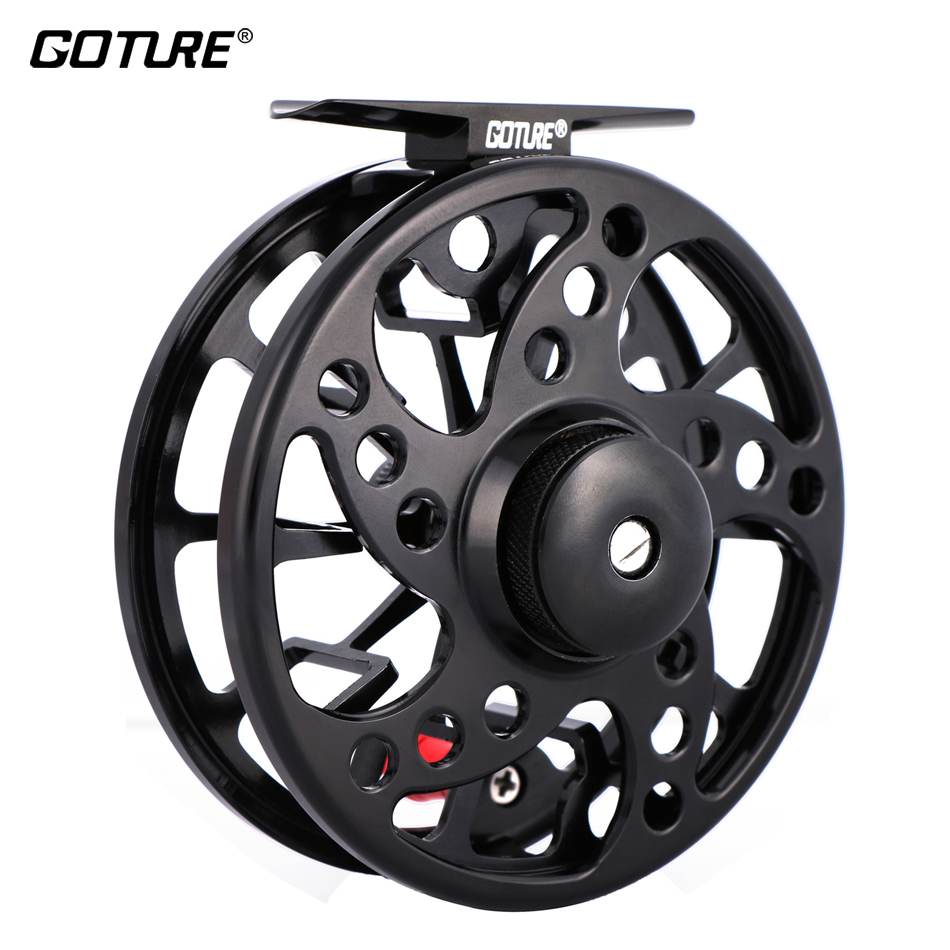 Goture SPARK Fly Fishing Reel 56 78 2+1BB Max Drag 8kg Super Lightweight CNC-machined Aluminum LeftRight Fly Reel Large Arbor