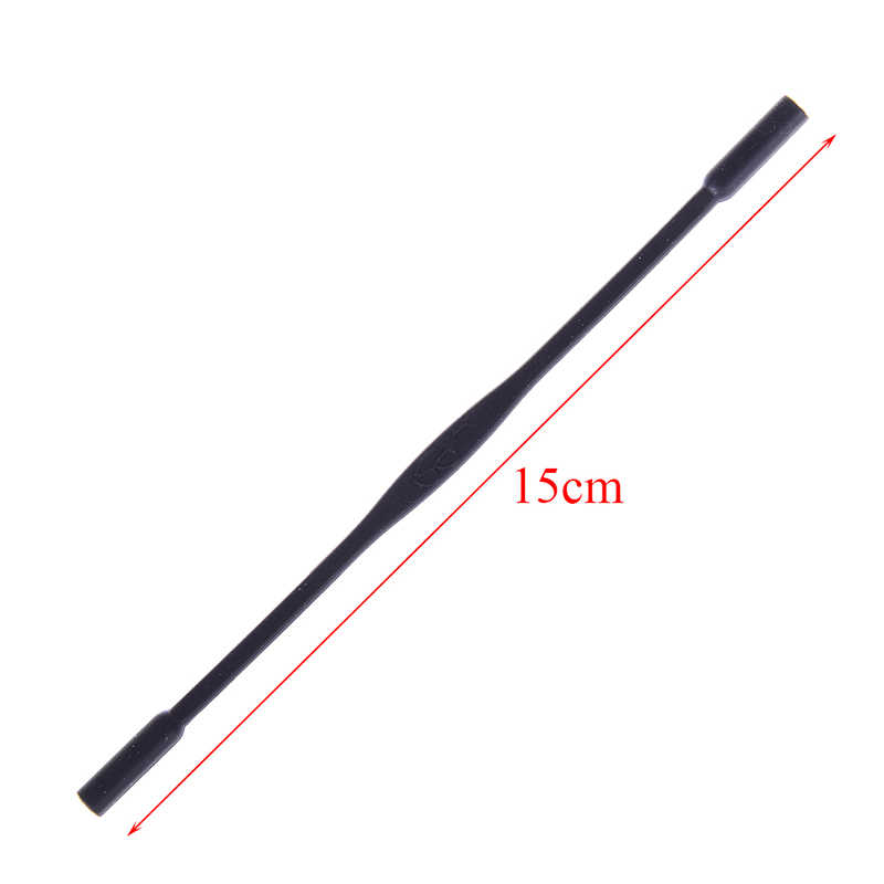 1 PC Tali Pengikat Elastis Tinggi Leher Tali Kacamata Hitam Band Tali Tali Pemegang Rantai Kacamata 15 Cm
