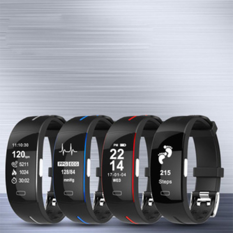 Montre intelligente Fitness Tracker Bluetooth podomètre Bracelet intelligent Bracelet tension artérielle pour IOS Android bande d'usure Xiomi Xiami - 5