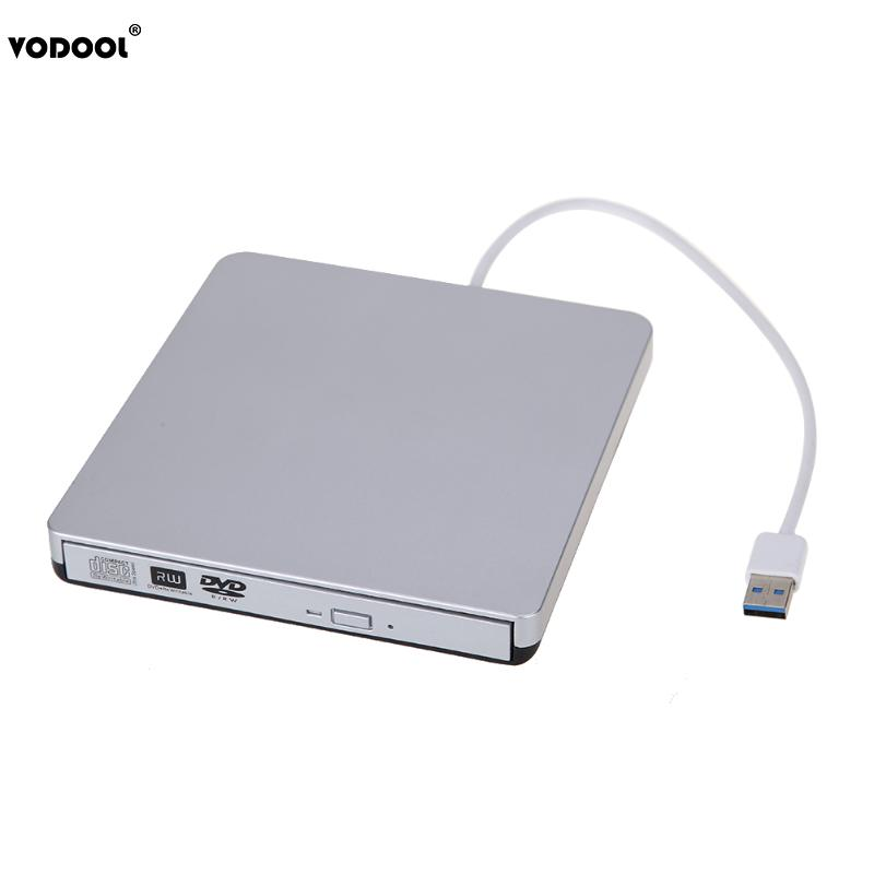 цена на New USB 3.0 Slim External CD-RW DVD+-RW DVD-RAM Burner Drive Writer For Laptop PC Wholesale
