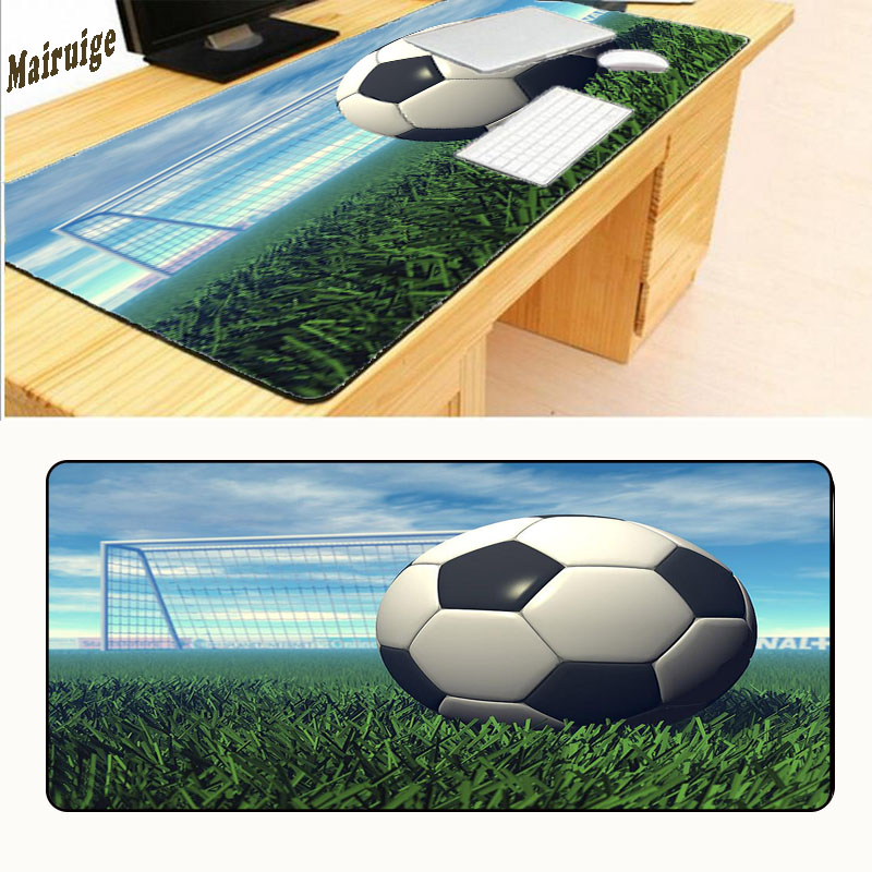 Mairuige Football Sell New Wholesale and Rubber Retail Large Gamers Style Gaming Mouse Mouse Pad Pc Laptop Computer Mouse Mat
