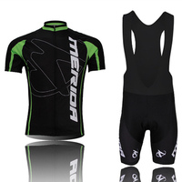 Merida Cycling Jersey 100 Polyester Breathable Cycling Clothing Short Sleeve Maillot Ciclismo Quick Dry Mountain Bike