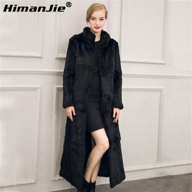 Качество роскошная марка искусственного меха Пальто новый имитация Искусственного меха пальто пальто куртки плюс размер женщин Зимнее пальто Кожаная куртка женский