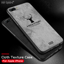 Soft TPU edge Embossed Deer Phone Case For Huawei P20 lite Pro Honor 9 10 lite 9n 9i play 7x 7c Pro 7a y9 2018 Soft Cloth Cover(China)