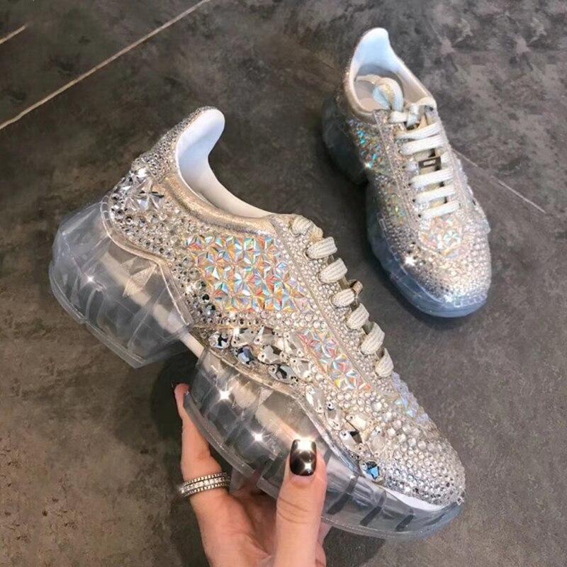 Nouveau designer chaussures femmes luxe 2018 mocassin femme schoenen vrouw scarpe donna baskets femmes