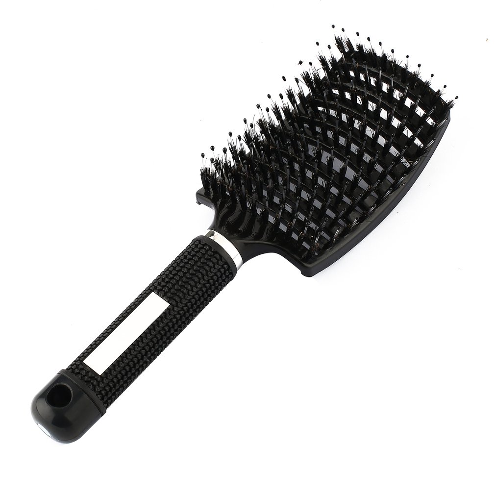 Women Hair Scalp Massage Comb Bristle & Nylon Hairbrush Wet Curly Detangle Hair Brush For Salon Hairdressing Styling Tools