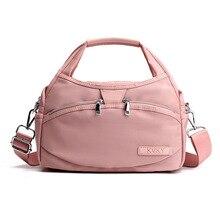 KVKY Oxford Waterproof Nylon Crossbody Shell Bag Ladies Hand Bags Luxury Handbags Women Bags Designer Women Messenger Bags