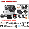 Hot, Original EKEN H8 plus Action cameras Ambarella A12 4K 30fps/1080P 120fps WiFi 2.4G Remote Dual Screen GO Sport Cam h8plus