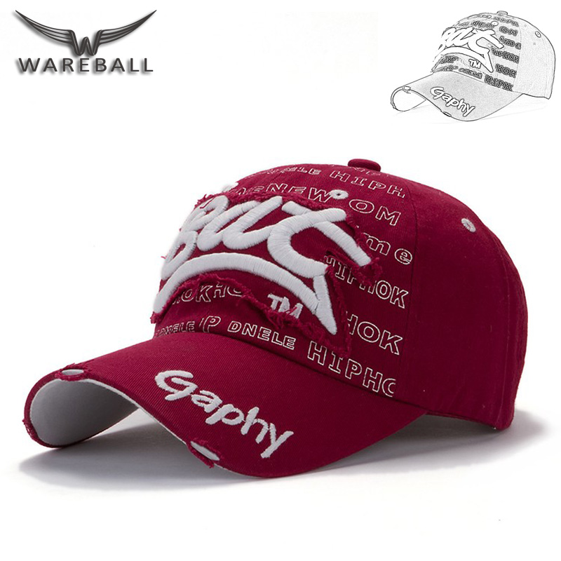 [WAREBALL] 2017 Letter embroidery Baseball Cap Spring Retro Cotton gorras bone Caps Grinding Retro Snapback hats for Men&Women [wareball] fashion cap for men and women leisure gorras snapback hats baseball caps casquette grinding hat outdoors sports cap