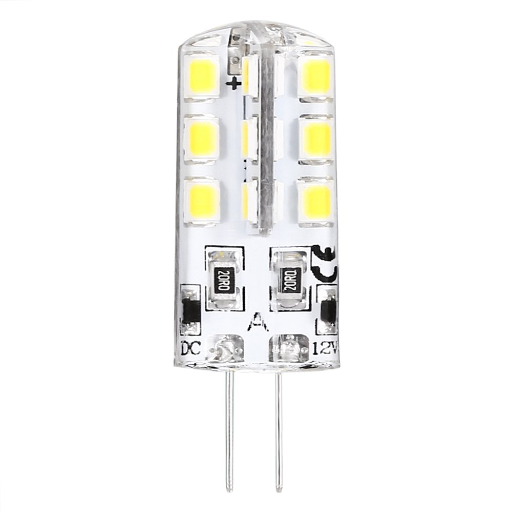 <font><b>10</b></font> X BEEFORO 2.5W <font><b>G4</b></font> LED Corn Lights 24 SMD 2835 180-300 lm Warm White / Cool White Bi-pin Lights spotlight DC 12 V 360 degrees image