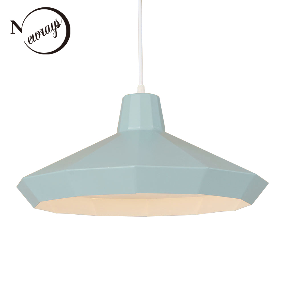 Loft simple pendant light LED E27 Nordic modern hanging lamp with 3 colors for living room restaurant dining room hotel cafe loft hanging lamps industrial living room kitchen restaurant cafe dining room aisle study bar iron chandelier pendant lamp light