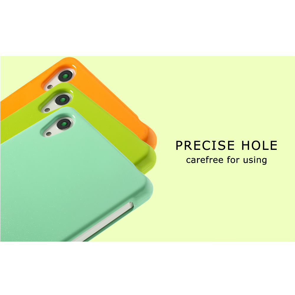 Mercury Goospery For Sony Xperia Z2 D6502 D6503 Green Glossy Pearl Jelly Case All Type Special  Yellow Powder Tpu Cover D6543 In Fitted Cases From
