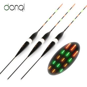 3 teile/satz Angeln Float LED Elektrische Float Licht Angelgerät Leucht Elektronische Float ohne batterie