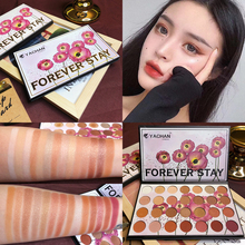 Brand 28 Color Eye Shadow Palette Shimmer Matte Glitter Makeup Palette Smoky Nude MakeUp Eyeshadow Pallete Eye Palette Cosmetics 18 colors nude color shiny eye shadow palette makeup glitter paint smoky eyeshadow pallete waterproof cosmetics