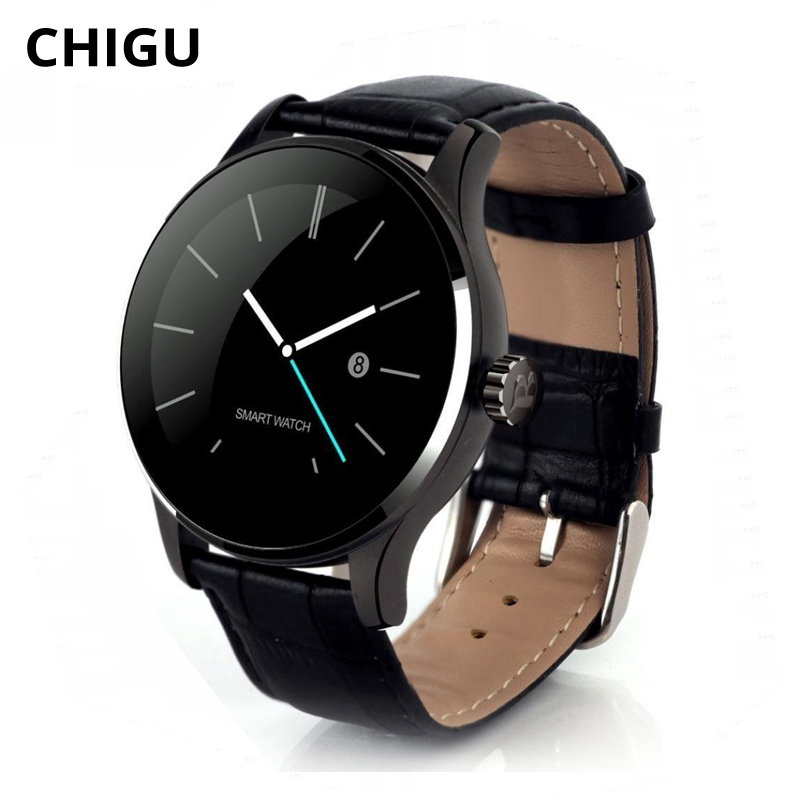 Chigu K88H Bluetooth Smart Watch Heart Rate Monitor Men Sport Waterproof Smartwatch For IOS Android Phone Reloj Fitness Tracker цена