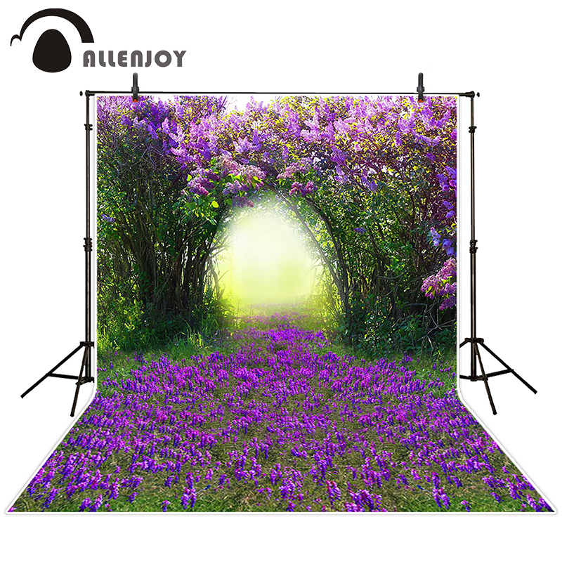 kate photographic background Fuzzy meadow flowers backdrops baby boy studio props 10x10ft
