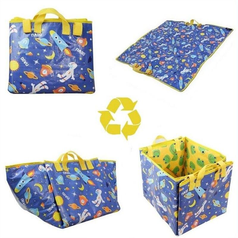 3-In1Multifunction-Duplex-Beach-Mat-Picnic-Mat-Baby-Toy-Game-Play-Mat-For-Children-Waterproof-Foam