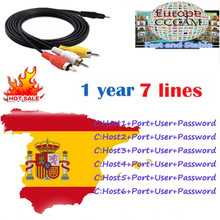 Europe Spain HD cable 3 Year cccam for Satellite tv Receiver