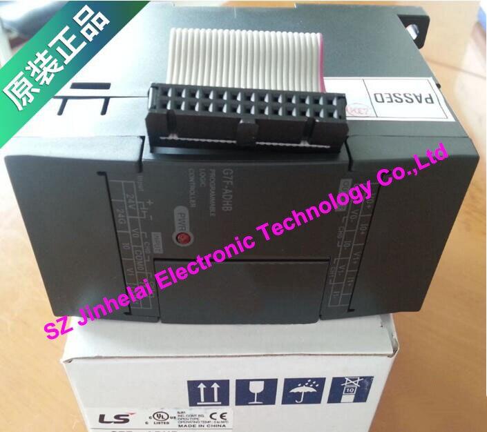 100% New and original  G7F-ADHB  LS(LG)  PLC controller  original and 100