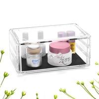 Empty drawer makeup box cosmetics holder Acrylic Cosmetic Organizer Makeup Storage jewelry organizer jewelry container C198 3