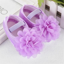LONSANT First Walkers Fashion Toddler Baby Girl Shoes Chiffo