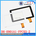 "9"" inch DH-0901A1-FPC03-2 Touch screen DH-0902A1-FPC03-02 external screen handwriting capacitance Free shipping"
