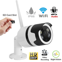 2.0MP 1080P Full HD WiFi IP Camera Support TF Card Two way Voice Motion Detector Night Vision Network Wireless IP Camera