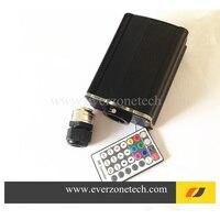 16 w wrgb led sorgente di luce in fibra ottica con telecomando (tipo di aggiornamento)-in Luci a fibra ottica da Luci e illuminazione su
