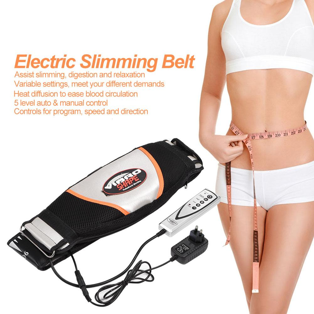 Electric Stomach Slimming Vibrating Sauna Warming Massage Belly Fat Burner Belt Anti Cellulite Fat Weight Loss