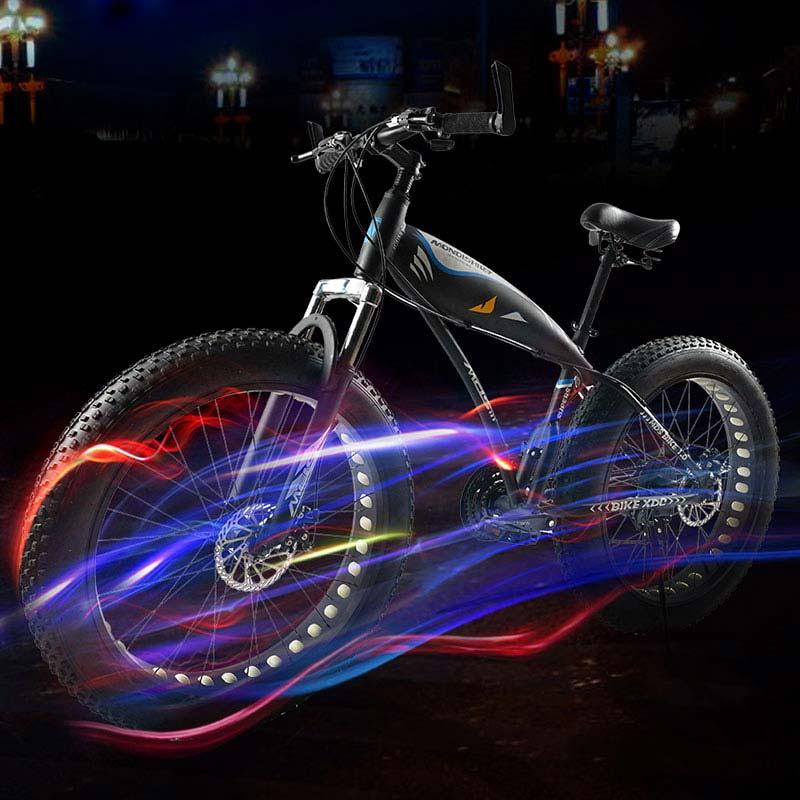 Livraison gratuite haute qualité vélo hors route plage neige vélo 26*4.0 super large pneu VTT homme et femme étudiant cyclisme