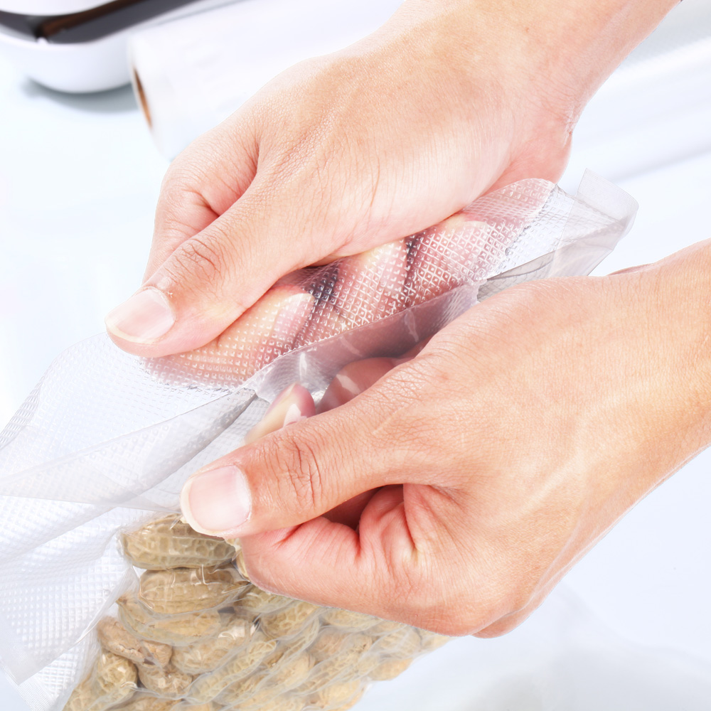 Image 5 - Cymye food Storage saver bags VB01 Vacuum Plastic roll custom size Bags For Kitchen Vacuum Sealer to keep food fresh-in Vacuum Food Sealers from Home Appliances