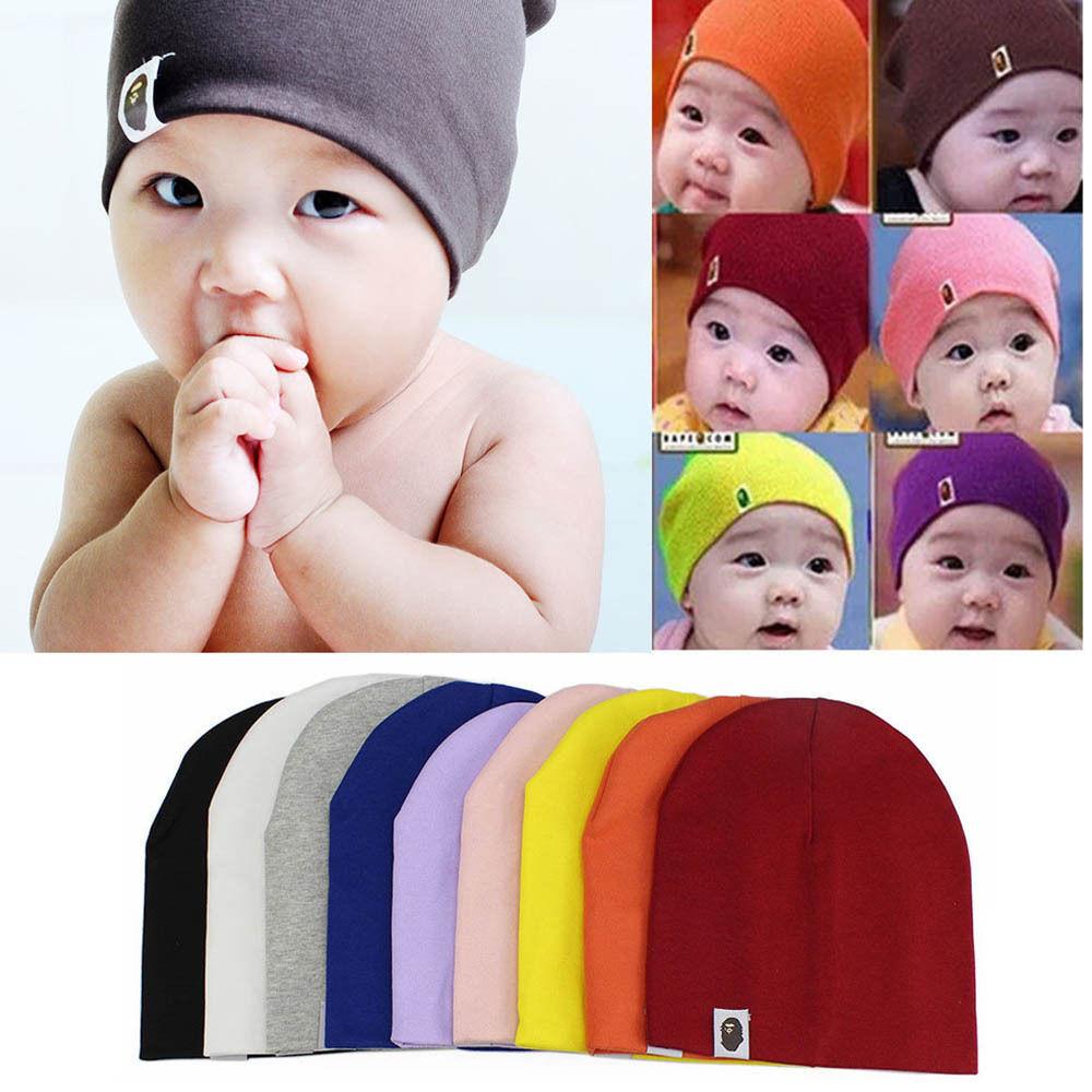 1 PC Spring Autumn Crochet Baby Hat Girl Boy Cap Unisex Beanie Star Infant Cotton knitted toddlers New Children Accessories
