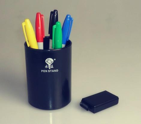 Color Pen Prediction Plastic Pen Holder - Magic Trick,Stage Magic,Menatlism,illusion,Prophecy Magic Props,Gimmick,Fun got it covered umbrella magic magic trick magic device stage gimmick illusion card magic