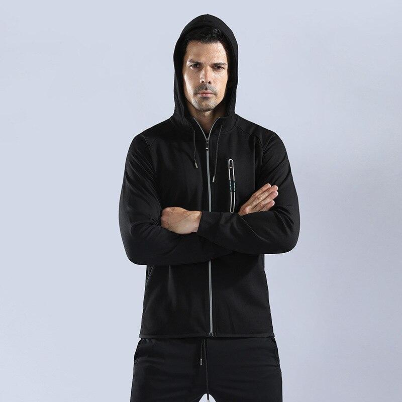 JINXIUSHIRT Outwear Running Jacket Men Windproof Hood Men Jacket Quick drying Outdoor Sports Fitness Casual Jacket