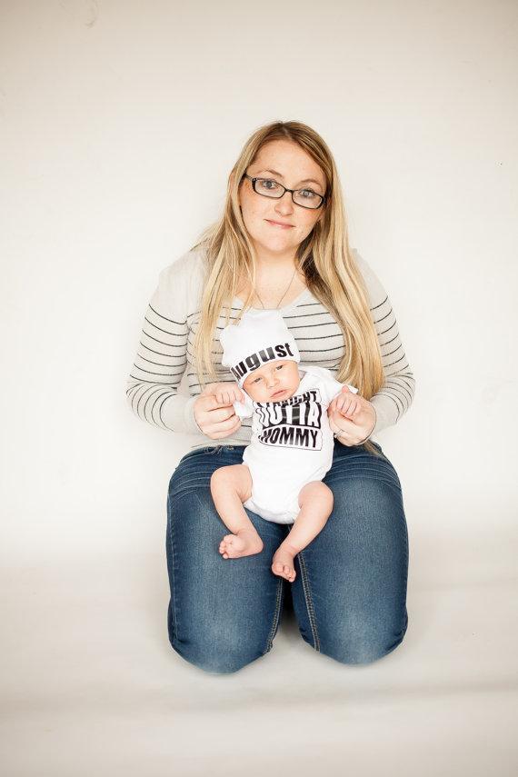 Summer 17 Newborn Kids Baby Girl Boy Clothes Quote Bodysuit Jumpsuit Playsuit Outfit Set 4