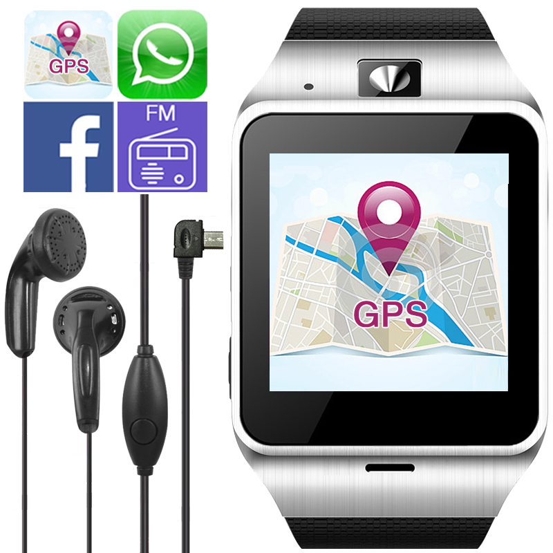 wearable devices GV18 Aplus Bluetooth Smartwatch Child GPS font b Smart b font Watch For Android