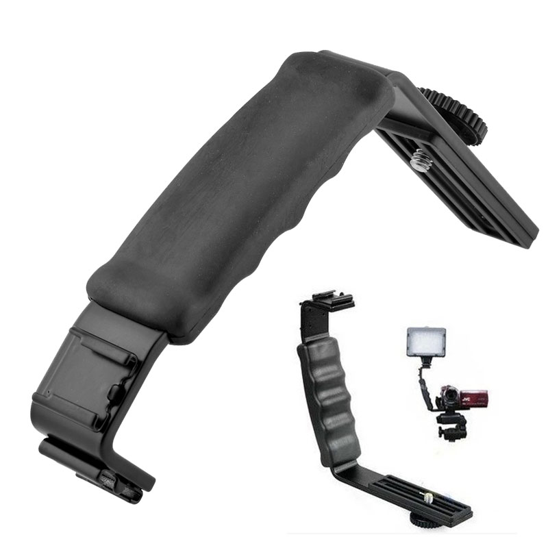 Light Stand Gimbal: Ulanzi L Mic Stand With 2 Hot Shoe For Zhiyun Smooth Q