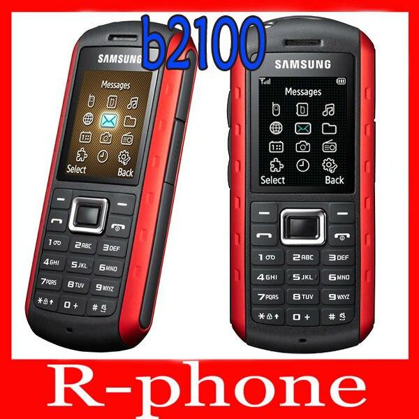 Цена за Оригинал Samsung B2100 Мобильный Телефон Разблокирован 2 МЕГАПИКСЕЛЬНАЯ Bluetooth Восстановленное B2100 Мобильный Телефон