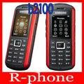 Оригинал Samsung B2100 Мобильный Телефон Разблокирован 2-МЕГАПИКСЕЛЬНАЯ Bluetooth Восстановленное B2100 Мобильный Телефон